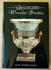 Grainger's Worcester Porcelain 1989 Henry & John Sandon HC DJ 1st Edition LONDON