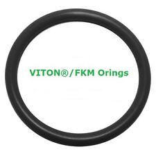 Viton Heat Resistant Black O-rings  Size 014 Price for 50 pcs
