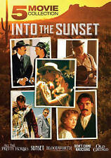 INTO THE SUNSET 5 MOVIE COLLECTION DVD All Pretty Horses Bloodworth Old Gringo