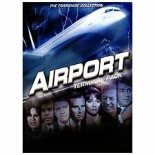 Airport Terminal Pack DVD 2-Disc 4 Movies GEORGE KENNEDY HELEN HAYES KAREN BLACK