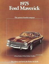 Auto Brochure - Ford - Maverick - Car - 1975 (AB12)