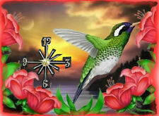Humming Bird wall clock   They make great gifts Handmade