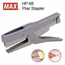 MAX HP-88 Durable Metal Heavy Duty Plier Stapler, MADE IN JAPAN