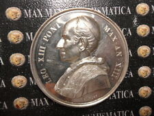 VATICANO MEDAGLIA ARGENTO LEONE XIII OFFERTA ANNO XIII