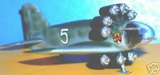 Ju-EF-009 Junkers Airplane Desk Wood Model Big
