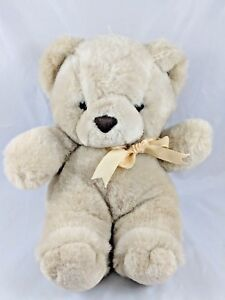 "Ambiance Inc Teddy Bear Plush 11"" 1986 Stuffed Animal toy"