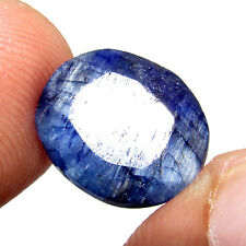 8.25Cts Natural Oval Cut Brazilian Blue Sapphire Loose Awesome Gemstone CH 5860