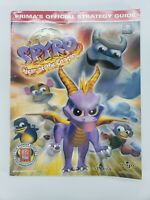Spyro Year of The Dragon Prima Official Strategy Guide Book PS1 Playstation