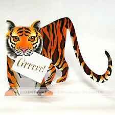 """3D Special Delivery Greeting Card - Tiger """"Tyger"""" - #SD-093"""