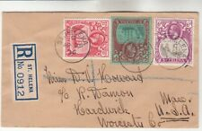 St. Helena Registered Cover