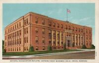 Postcard Headquarters Building Supreme Forest Woodmen Circle Omaha Nebraska NE