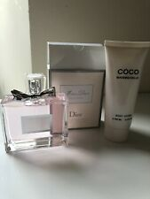 Replicas Miss Dior Perfume 100 ml And Coco Mademoiselle Body Lotion 100ml New