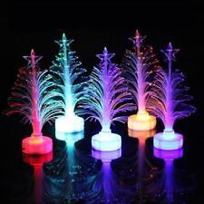 Mini Xmas Christmas Tree Color Changing LED Light Lamp Home Party Decor 2018