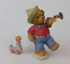 Cherished Teddies Jackson your sealed invitation to fun boy w toy duck figurine