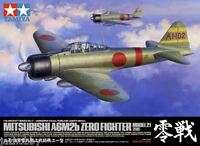 Tamiya 60317 1/32 Scale Model Aircraft Kit WWII A6M2b Zero Fighter Model 21 Zeke
