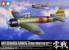Tamiya 60317 1/32 Aircraft Kit WWII Mitsubishi A6M2b Zero Fighter Model 21 Zeke