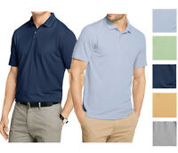 New Van Heusen Men's Ottoman textured Striped Polo Assorted Colors Big&Tall $60