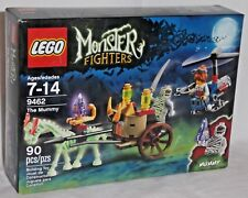SEALED 9462 LEGO Monster Fighters MUMMY GITD Horse Carriage Copter 90 pc set