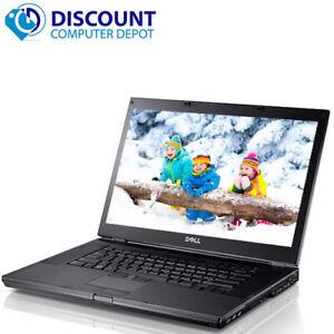 Dell Latitude E6510 Laptop Computer PC i5 2.4GHz 8GB 500GB DVDRW Windows 10 Pro