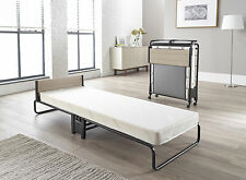 NEW Jay Be Revolution J-Tex Single Folding Guest Bed With Memory Foam Mattress