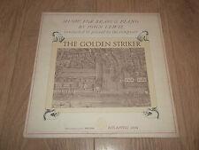 """JOHN LEWIS ~ CONDUCTS MUSIC FOR BRASS """" THE GOLDEN STRIKER """" JAZZ VINYL LP EX/EX"""