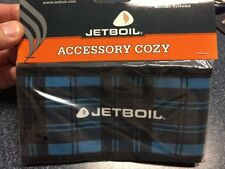 Jetboil MiniMo Blue Plaid Cook Stove System 1L Fast Boil Brand New In Box