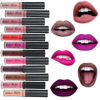 HO_ PHOERA 12 Color Velvet Matte Moisturizing Lip Gloss Lasting Non Sticky Liqst