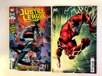 Justice League 9 A + B Jim Lee Variant Set 1st Print DC Comics 2018 NM