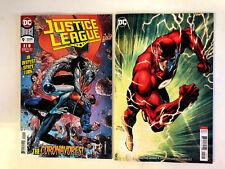 Justice League 9 A + B Jim Lee Variant Set 1st Print DC Comics 2018 NM