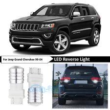 Bright White 3157 Reverse Backup LED Light Bulbs Lamp Fit Jeep Grand Cherokee WJ