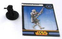 Star Wars Miniature: NEIMOIDIAN SOLDIER # 10J85