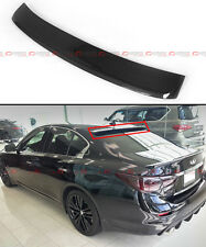 FITS FOR 2014-2016 INFINITI Q50 JDM REAL CARBON FIBER REAR ROOF TOP SPOILER WING