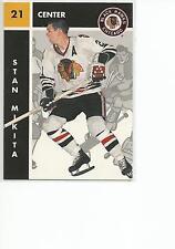 STAN MIKITA 1995-96 Parkhurst Hockey card #24 Chicago Blackhawks NR MT