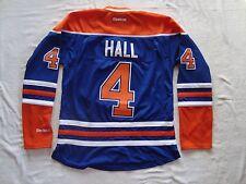 HALL #4 Edmonton Oilers Blue Women's Premier NHL Reebok Jersey NEW Size M