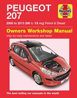 Peugeot 207 2006-2013 Repair Manual