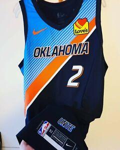 Shai Gilgeous-Alexander 2020-21 Oklahoma City OKC Thunder Nike Authentic Jersey