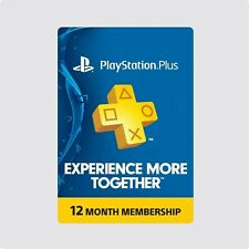 PlayStation Plus Prepaid Gaming Cards