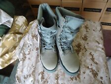 New USAF 8 reg., Corcoran safety toe, foliage green combat boots