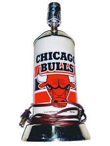 Rare! Vintage P & K Products 1988 Chicago Bulls Michael Jordan Era Lamp Works