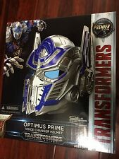 IN HAND Transformers The Last Knight Voice Changer Helmet Optimus Prime 2017 NEW