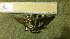 Rare American Eagle With USA Flag  Belt Buckle