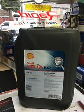 Shell Helix HX7 SAE 10W40 Part Semi Synthetic Car Engine Oil A3 B4 20L 20 Litre