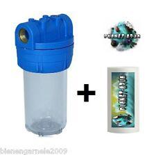"""Filtergehäuse 5"""" 1/2"""" VORFILTER PATRONE Wasserfilter Brunnen Filter Pumpe Wasser"""
