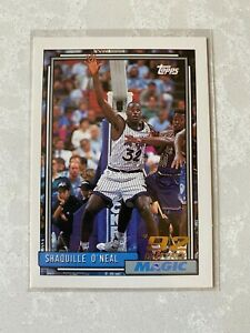🔥🔥1992-93 TOPPS SHAQ ROOKIE Shaquille O'Neal RC #362 🔥🔥