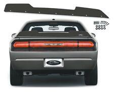 PSDesigns 08-14 1 Piece Dodge Challenger Rear Wicker Bill Wickerbill Spoiler