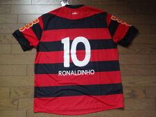 Flamengo #10 Ronaldinho 100% Original Soccer Jersey EL(GG) 2011/12 Home BNWT