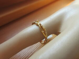 14K Cross Thin Ring Stacking Gold ring Stackable Gold Ring Dainty Gold ring Gold stacking ring Solid Gold stacking ring Minimalist ring