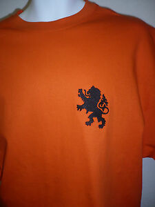 RETRO HOLLAND Embroidered Football T-Shirt
