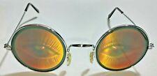 Vintage Novelty Fake Eyes Glasses Round Lashes Costume Disguise Prank Joke Gag