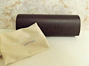 Oliver Peoples Brown Hard Case for Sun/Eye Glass Case w/Cloth